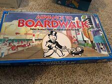 Advance To Boardwalk Board Game 1985 Vintage Complete Parker Brothers