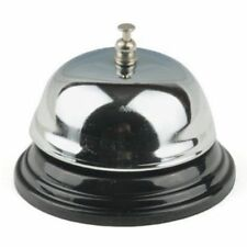 Restaurant Hotel Kitchen Service Steel Bell Ring Reception Desk Call Ringer UK