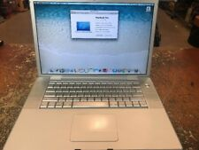 """Apple MacBook Pro A1229 17"""" Laptop 2.4GHz Core 2 Duo 500GB HD 4GB RAM FOR PARTS"""