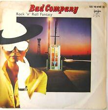 "Bad Company - Rock 'n' Roll Fantasy / Crazy Circles 7"" single Germany 1979 EX"