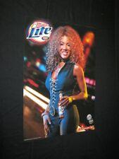 New listing Original 2003 Miller Lite Miller Genuine Draft Beer Promo Poster Model'S Name?#2