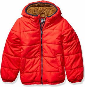 Osh Kosh B'gosh Boys Red Coat Size 2T 3T 4T 4 5/6 7