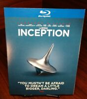 Inception(Blu-ray)Warner Special Iconic Moments Collector Edition Slipcover-NEW