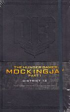 Hunger Games Mockingjay Part 1 District 13 Ruled Journal NEW BOOK (H/B 2014)