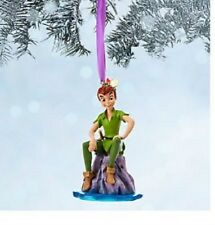PETER PAN  LOST BOY DISNEY STORE 2014 SKETCHBOOK CHRISTMAS ORNAMENT NEW