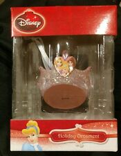 Disney Princess Pink Sparkle Crown Christmas Ornament - 2013 - New 3D