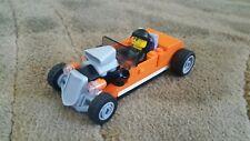 LEGO City Hot Rod Custom Orange    - 60048 - No Box/Figs