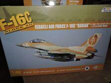 KINETIC 1/48th SCALE GENERAL DYNAMICS ISRAELI F-16  BARAK BLOCK  40 ( # K48012)