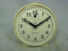 Schöner / Cool 70´s design PETER  Wecker  # alarm clock in working condition