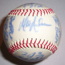 2006 Nebraska Cornhuskers (NCAA) Team Sign/Signed Baseball w/M. Anderson
