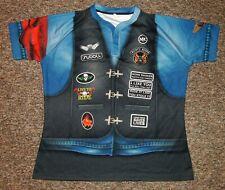 RUSTY RODS / SUBBLI - MENS - 3D Biker (Rocker) Garage Shirt / Jersey. Size: 3XL