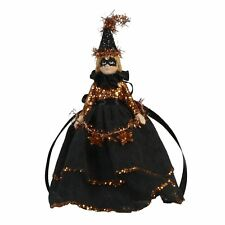 Bethany Lowe Glitter Witch Doll Halloween Ornament Retro Vintage Style Decor