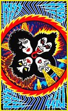 KISS Rock And Roll Over '70's Metal Sticker or Magnet