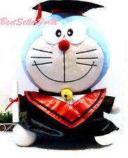 "15"" Authentic Doraemon Robot Cat Graduate Graduation Gift Plush Doll Stuffed Toy"