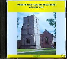 DERBYSHIRE PARISH REGISTERS MARRIAGES VOLUME I