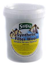 Supa Aquarium Filter Wool Floss for Aquariums Fish Tanks Synthetic Small 25g