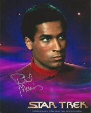 Phil Morris - Star Trek III signed photo