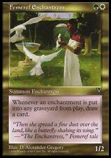 Incantatrice Femeref - Femeref Enchantress MTG MAGIC Vi Visions English