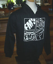 NEW FAMOUS STARS AND STRAPS BLACK JACKET Sweatshirt COAT Pullover HOODIE sz XL