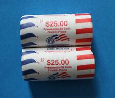 U.S. - 2010 UNC P&D Presidential Dollar 2 roll set - Franklin Pierce