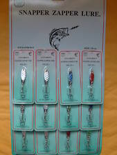 LURES HOLOGRAPHIC SPOON BRAND NAME STYLE 1/8 OZ 12 PCS FREE USA SHIPPING