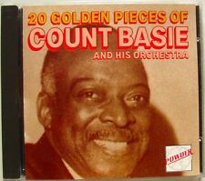 COUNT BASIE ORCHESTRA (CD)  20 GOLDEN PIECES OF