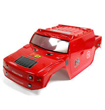 10204R RC 1/10 Scale Off Road Monster Truck Body Shell Cover Red