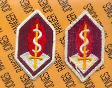 US Army Medical Research & Development Command uniform patch