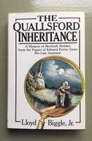 Lloyd Biggle, Jr. - Quallisford Inheritance - 1st Edition 1986