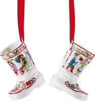 Hutschenreuther stivali in porcellana edizione limitata 2017 7.5 x 7.5 x 10.5 cm