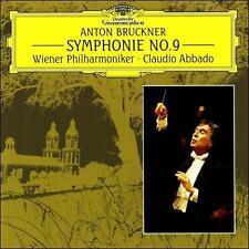 ANTON BRUCKNER - Sym 9 - Abbado/Vienna CD! BRAND NEW! STILL SEALED!
