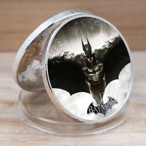 Silver Coin Batman Coins Collectibles US Challenge Coin for Collection