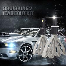 Paar S7 110W 11000LM 6000K 880/881/H27 Auto COB Chip LED Scheinwerfer Licht Bulb