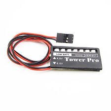 2PCS RC Model 7 LED Receiver Battery Voltage Indicator Monitor Car 4.8/6v