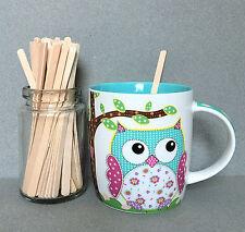 "5""Wooden Coffee Stirrers, Beverage Stirrers, Hot Cocoa Stirrers, Drink Stirrers"