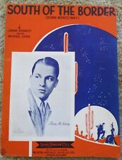 South of the Border - Barry McKinley - Sheet Music 1939