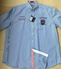 "Paul & Shark Yachting Shirt Camicia Size 45 17 5"""