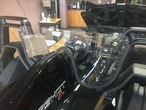 "Polaris Slingshot 1/4"" Clear Wind Deflector, Windscreen.Proudly Made In USA 🇺🇸"