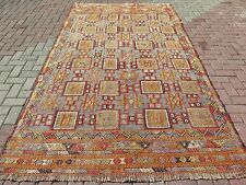 "Anatolia Antalya Nomads Kilim 66,9"" x 120,4"" Area Rug Kelim Carpet Kilim Rug"