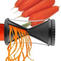 Handheld Spiralizer Vegetable Spiral Bundle Spaghetti Pasta Maker #D