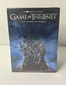Game Of Thrones The Complete Series DVD Lot New Sealed HBO Season 1-8 NIB Gift