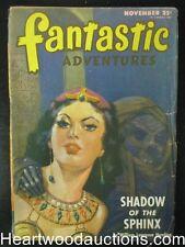 """Fantastic Adventures"" Nov 1946 J. Allen St.John Cvr"