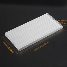 300x140x20mm Aluminum Heat Sink Heatsink for High Power LED Amplifier Transistor