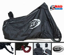 R&G Racing Cruiser Style Motorcycle Motorbike Outdoor Rain Cover + Padlock Flaps