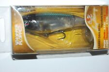 """river2sea bass topwater larry d whopper plopper 90 abalone shad 3 1/2"""" .4oz"""