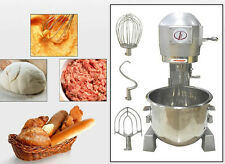 10L Commercial Dough Mixer Bakery Dough Food Mixer Egg Beater Blender 220V