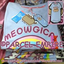Official PUSHEEN MEOWGICAL Nightdress T-Shirt Rainbow Unicorn Cat Pyjama Pajamas