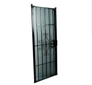 """36"""" x 80"""" Security Door black"""