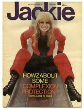 JACKIE Magazine No 412 November 27 1971 Rory Gallagher Mott Hoople Carpenters