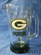 Green Bay Packers Glass Pitcher